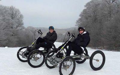 Le quadbike sur la neige